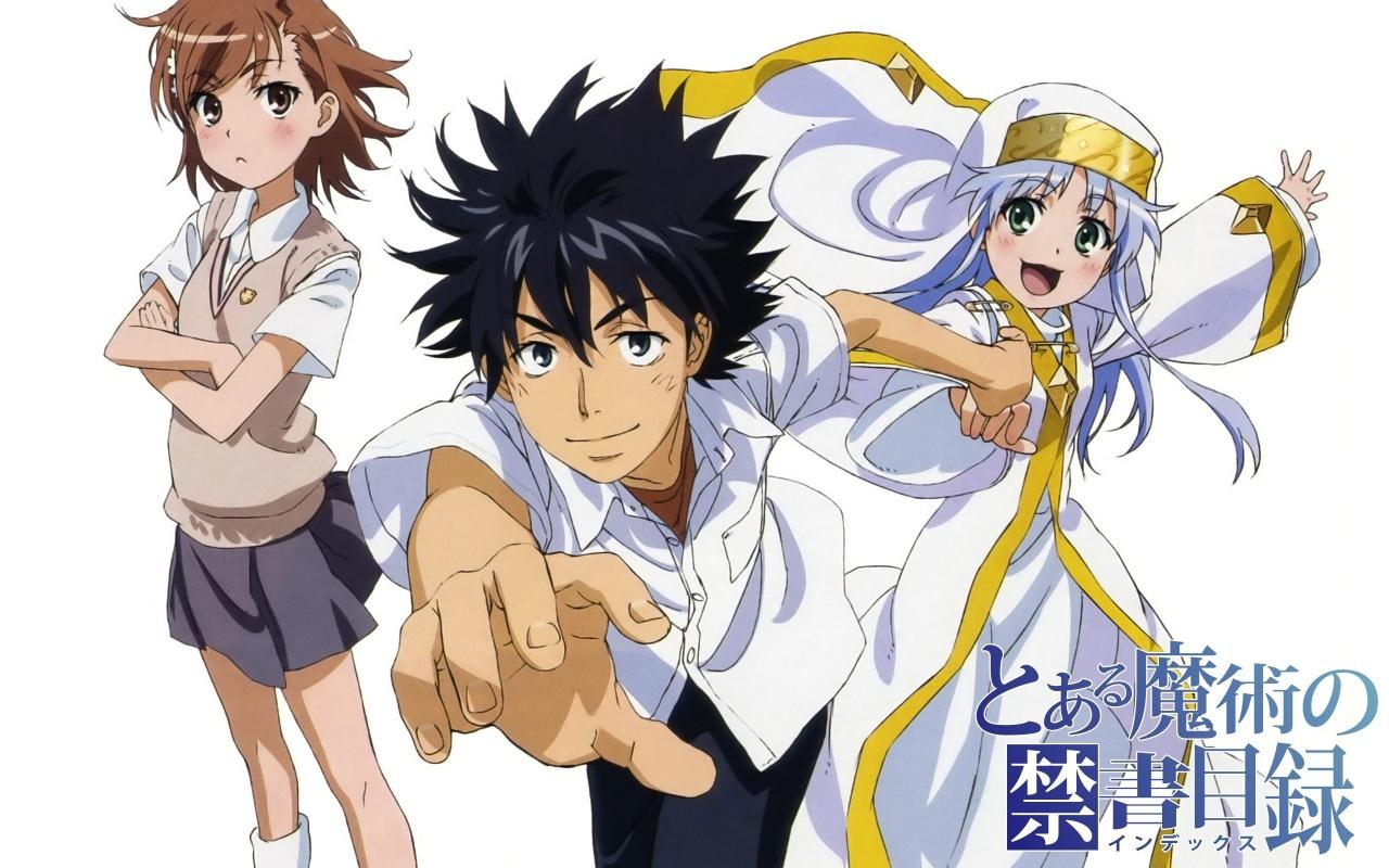 [7 Animes Indispensáveis] - Dengeki Bunko To-Aru-Majutsu-no-Index-Pics