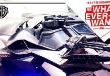 Batmobile na Comic Con Portugal 2017