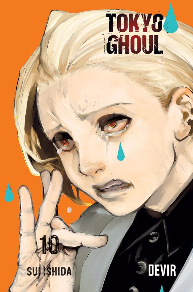 Devir lança Tokyo Ghoul 10