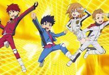 Drive Head com filme anime em 2018