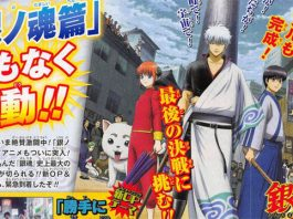 Gintama vai entrar no arco final
