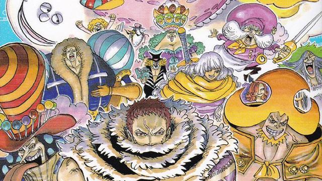 Manga de One Piece ent...