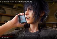 Noctis (Final Fantasy XV) em Tekken 7