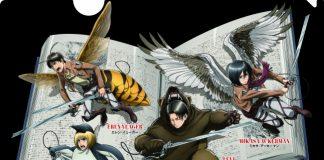 Exposição tem personagens de Attack on Titan como animais
