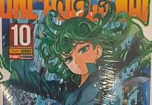 Panini a recolher volume 10 de One-Punch Man