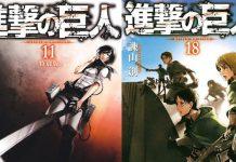 22 volumes mangá de Attack on Titan e muito mais por 18$