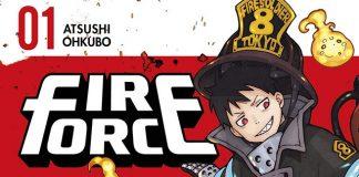 Fire Force com mais de 1.8 milhões de cópias