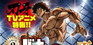 Baki - Revelada a primeira imagem promocional do anime
