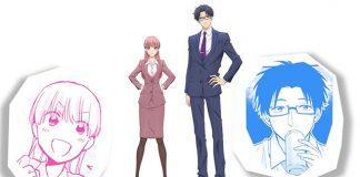 Otaku ni Koi wa Muzukashii - teaser trailer dos personagens