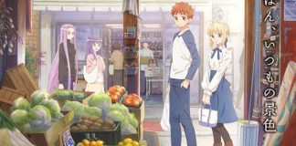 Revelado anime de Today's Menu for Emiya Family