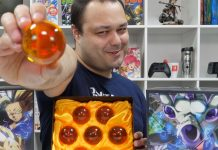 Unboxing do Press Kit de Dragon Ball FighterZ