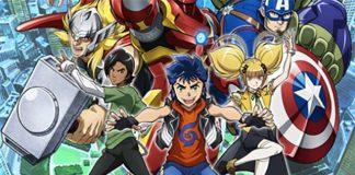 Nova série anime de Marvel Future Avengers este Verão
