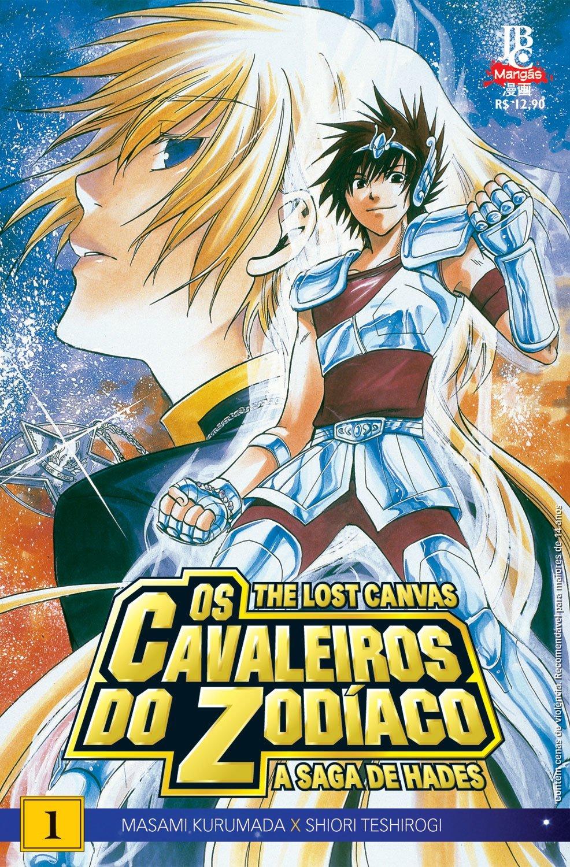 Os Cavaleiros do Zodíaco: The Lost Canvas será relançado pela editora JBC