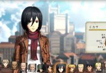 Attack on Titan 2 - Todos os personagens jogáveis