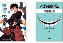Devir lança Blue Exorcist 15 e Assassination Classroom 11