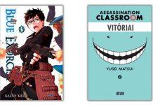 Devir lança Blue Exorcist 15 e Assassination Classroom 11