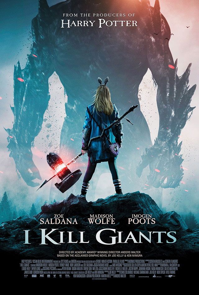 I Kill Giants - Poster do filme live-action