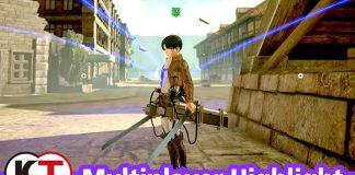 Trailer do multiplayer de Attack on Titan 2