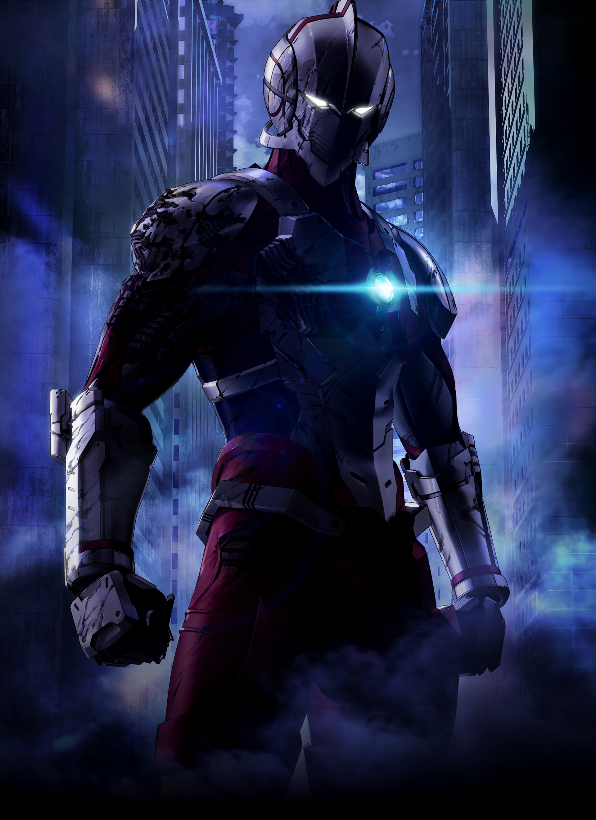 Revelado visual do anime Ultraman