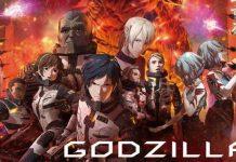 Imagem promocional do 2º filme de Godzilla