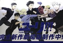 Imagem promocional do filme de Yuri!!! on Ice