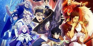 Poster do 3º cour de Black Clover