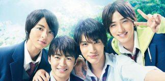 Poster do filme live-action de Nijiiro Days
