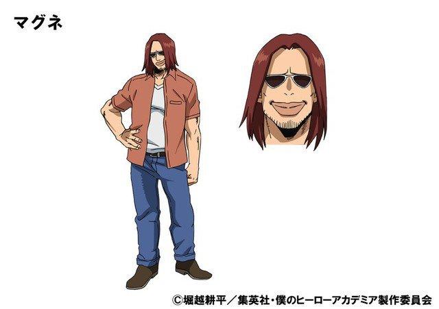 """Satoru Inoue como Magne, quirk é """"Magnetism"""""""