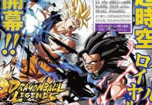 Dragon Ball Legends - 3 novos personagens por Akira Toriyama
