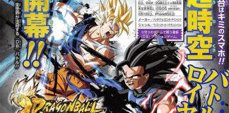 Dragon Ball Legends - 3 novos personagens por Akira Toriyama