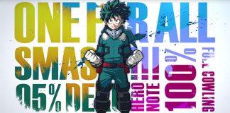 My Hero One's Justice é o título oficial do jogo de My Hero Academia