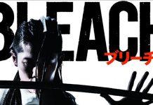 Poster de Bleach Live-Action com Byakuya