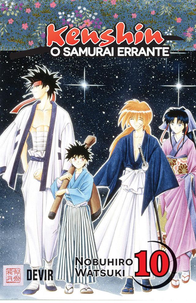 Devir lança Kenshin, o Samurai Errante 10