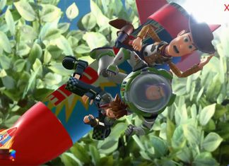 Kingdom Hearts III - Longo Gameplay