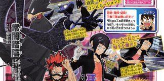 Tokoyami, Jiro e Kirishima confirmados em My Hero One's Justice