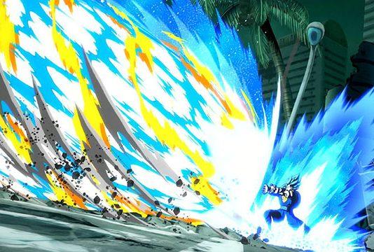 Zamasu e Vegito Blue em Dragon Ball FighterZ a 31 de Maio