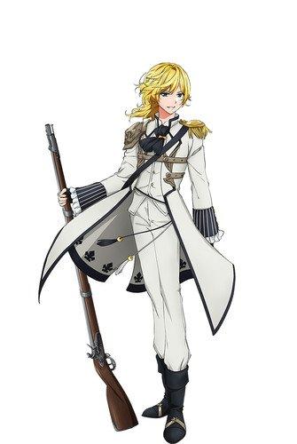 Shinnosuke Tachibana como Charleville, a primeira metralhadora francesa, padronizada para os militares