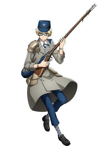 Kōtarō Nishiyama como Lorenz, baseado no rifle austríaco Lorenz usado na Guerra Civil Americana e na Guerra Austro-Prussiana