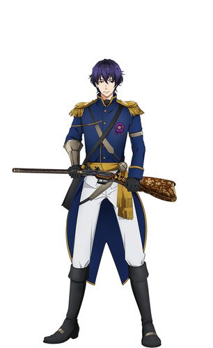 Wataru Hatano como Rapp, uma arma tipo flint-lock, que foi dada pelo Imperador Napoleão ao General Rapp