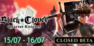 Beta fechada de Black Clover: Quartet Knights em Julho