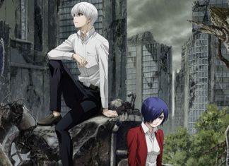 Imagem promocional da 2ª temporada de Tokyo Ghoul:re