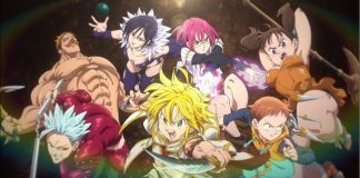 Terceiro trailer do filme anime de Nanatsu no Taizai