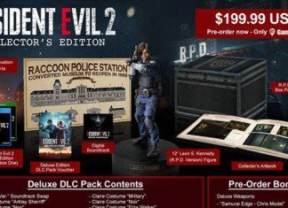 Capcom revela edição de colecionador de Resident Evil 2 Remake