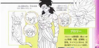 Criador de Dragon Ball mostra design original de Broly