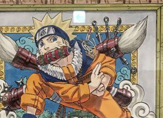 Criador de Naruto revela arte especial de aniversário