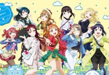 Imagem promocional de Love Live! Sunshine!! The School Idol Movie: Over the Rainbow