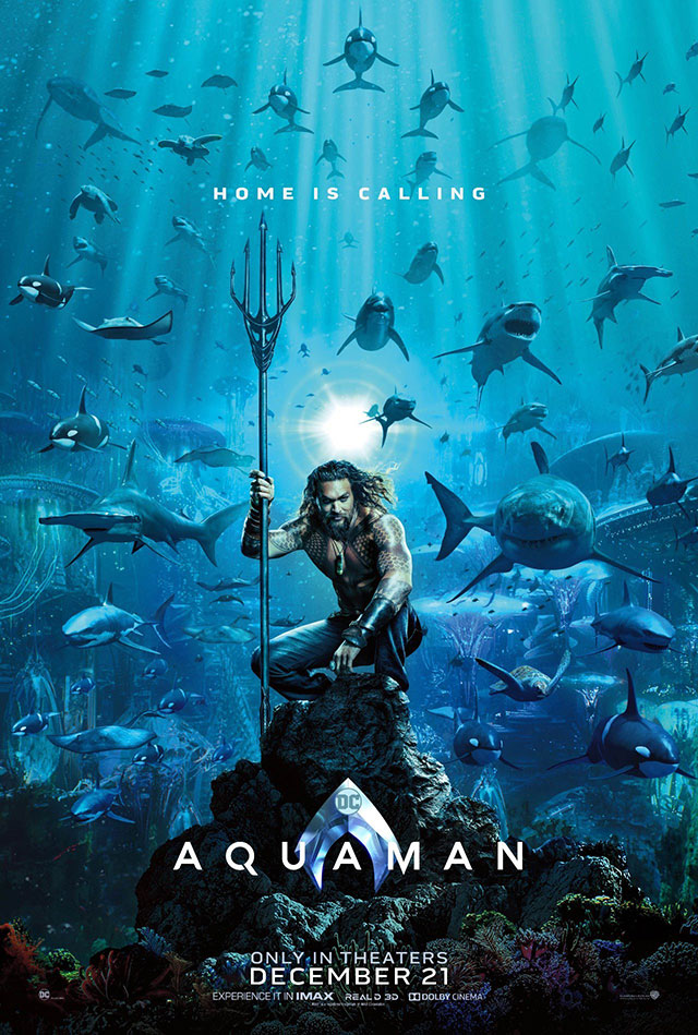 Primeiro Poster de Aquaman