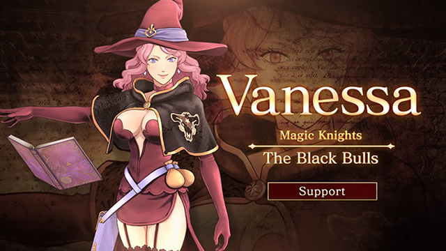 Black Clover: Quartet Knights - Trailer de Vanessa | OtakuPT