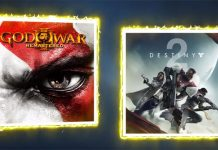 Destiny 2 e God of War III nas ofertas Playstation Plus de Setembro