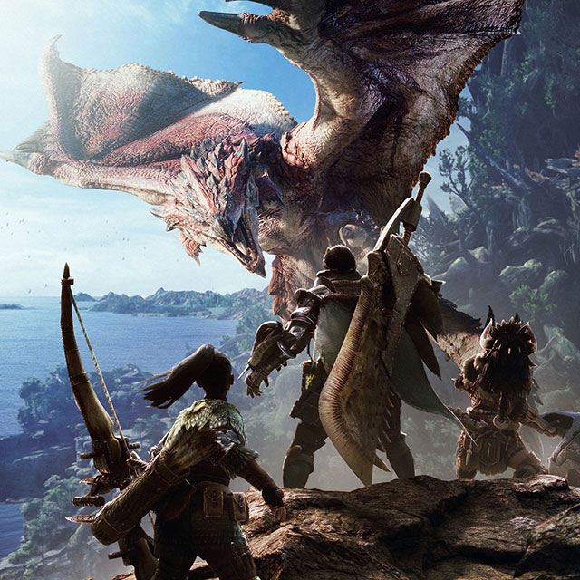 Monster Hunter: World já está disponível no Steam!